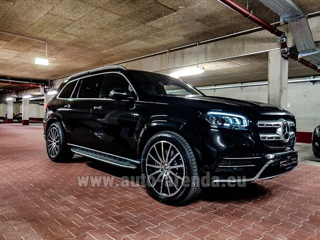 Прокат Мерседес-Бенц GLS 400d 4MATIC BlueTEC комплектация AMG в Билье