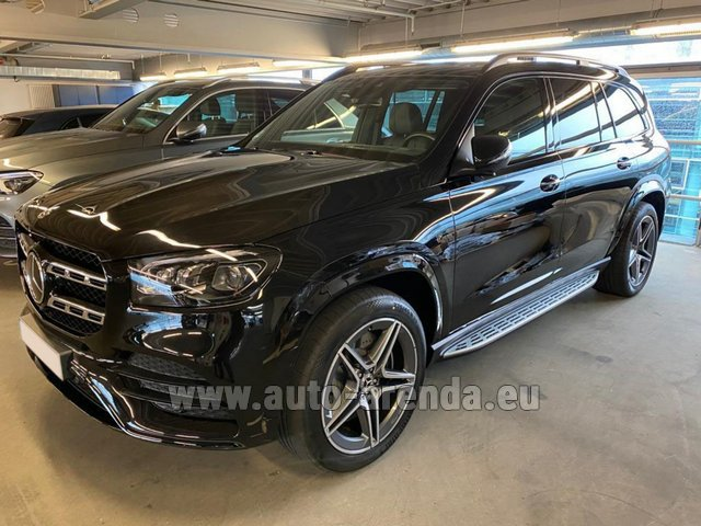 Прокат Мерседес-Бенц GLS 400d BlueTEC 4MATIC комплектация AMG в Билье
