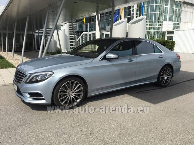 Прокат Мерседес-Бенц S 350 L BlueTEC 4MATIC AMG в Цюрихе