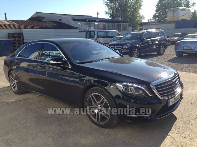 Rental Mercedes-Benz S 350 L BlueTEC AMG in Luzern