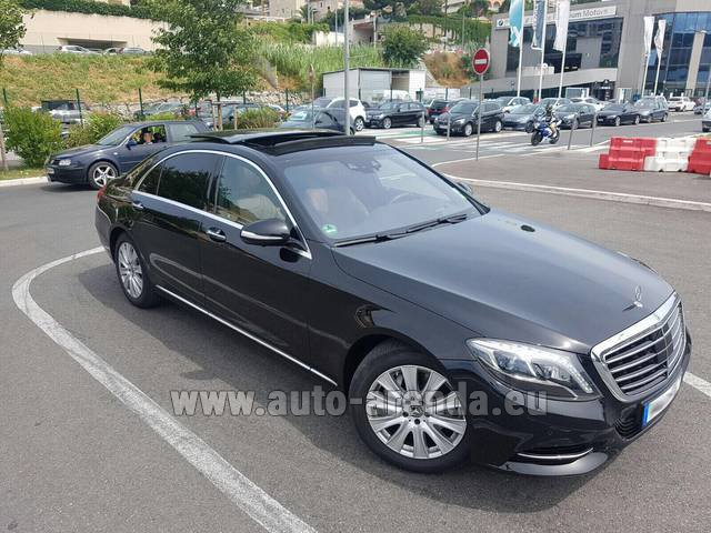 Rental Mercedes-Benz S 350 Long AMG in Luzern