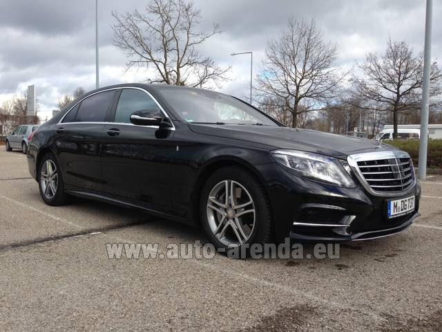 Трансфер из Женевы в Аэропорт Мюнхена на автомобиле Mercedes-Benz S350 Long 4MATIC комплектация AMG