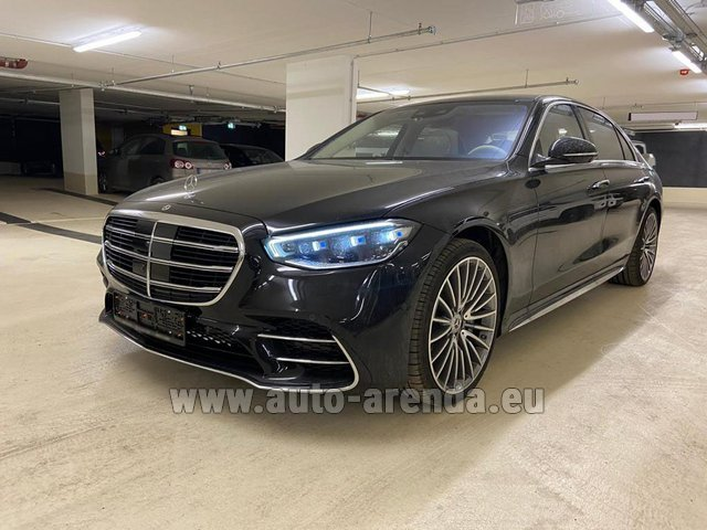 Rental Mercedes-Benz S 500 4MATIC Sedan long in Zurich