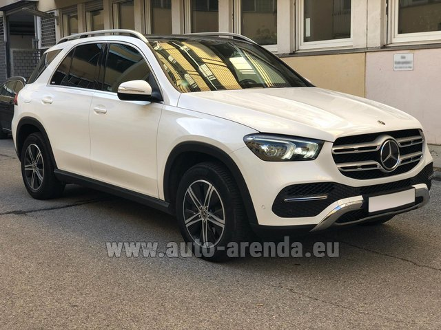 Rental Mercedes-Benz GLE 350 4Matic AMG equipment in Biel