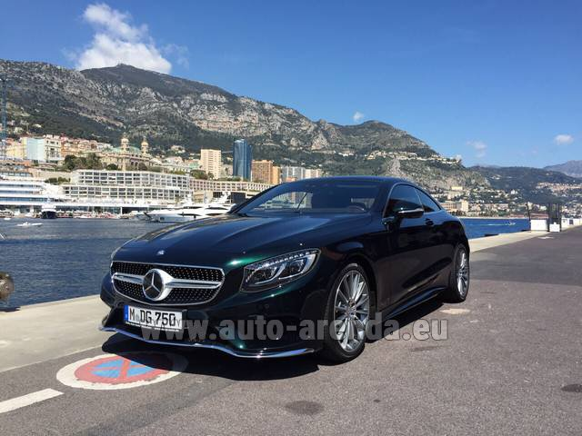 Rental Mercedes-Benz S 500 Coupe 4Matic 7G-TRONIC AMG in Lugano