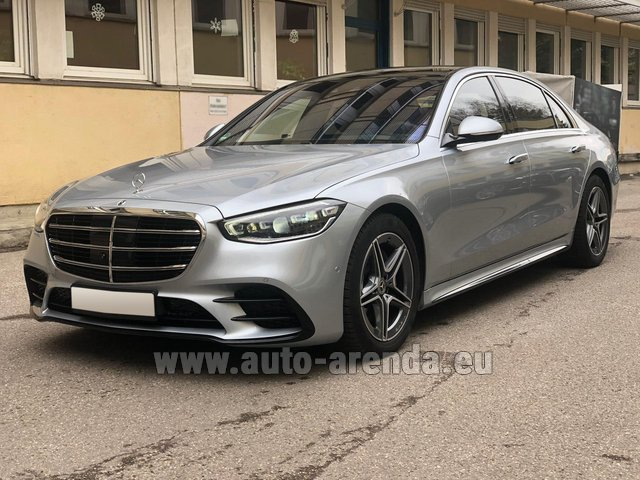 Transfer from St. Gallen to Munich by Mercedes S400 Long 4MATIC AMG equipment car