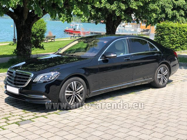 Rental Mercedes-Benz S-Class S400 Long 4Matic Diesel AMG equipment in Biel