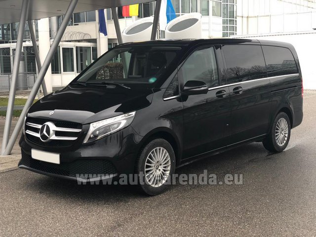Rental Mercedes-Benz V-Class (Viano) V 300 d 4MATIC AMG equipment in Lugano