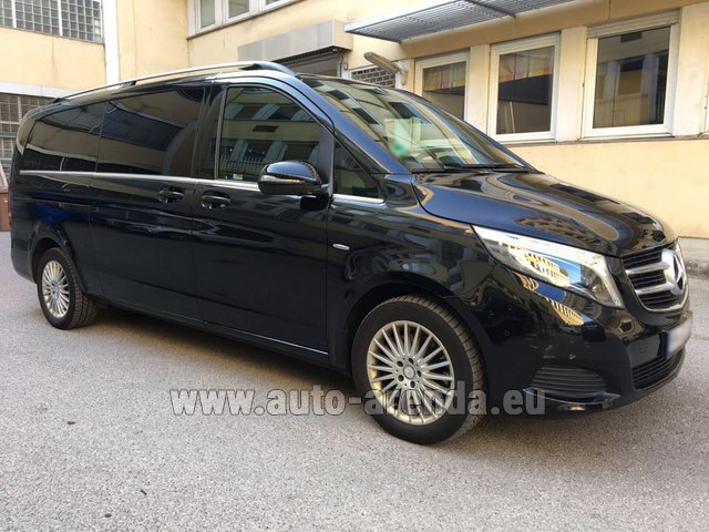 Rental Mercedes-Benz V-Class V 250 Diesel Long (8 seats) in Lugano