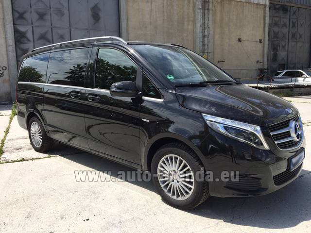 Rental Mercedes-Benz V-Class (Viano) V 250 Long 8 seats in Lugano