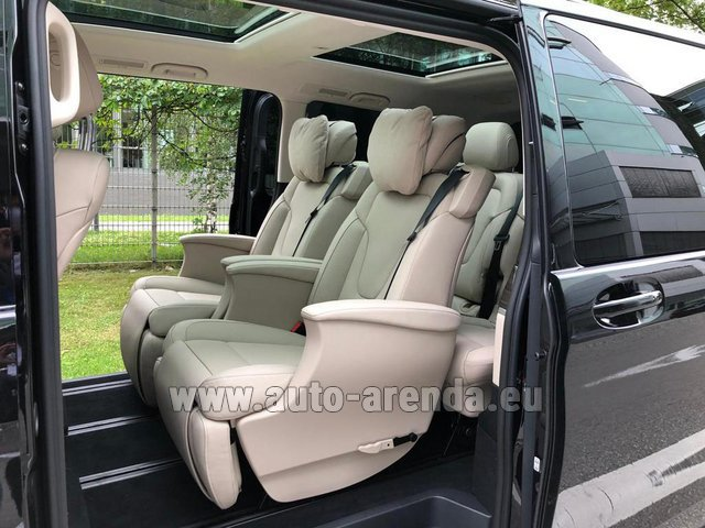 Rental Mercedes-Benz V300d 4MATIC EXCLUSIVE Edition Long LUXURY SEATS AMG Equipment in Lugano