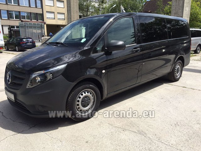 Rental Mercedes-Benz VITO Tourer 116 CDI (9 seats) AMG equipment in Lugano
