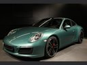 Rent-a-car Porsche 911 991 4S Racinggreen Individual Sport Chrono in Biel, photo 1