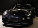 Rent-a-car Porsche 911 991 Turbo S Ceramic LED Sport Chrono Package with its delivery to Geneva airport, photo 1