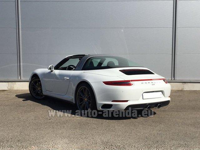911 Targa 4S >> Rent The Porsche 911 Targa 4s White Car In Bienne