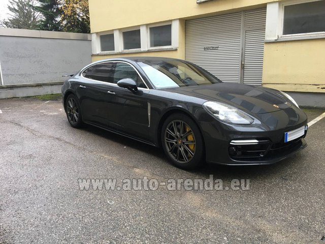 Rental Porsche Panamera Turbo Executive in Bienne