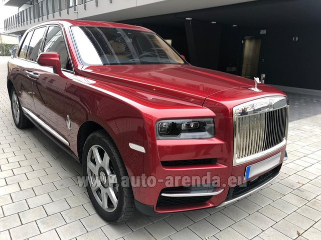 Rental Rolls-Royce Cullinan in Biel