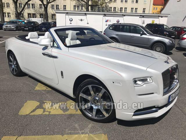 Rental Rolls-Royce Dawn in Switzerland