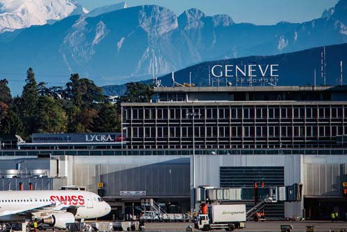 Transfers in Geneva Airport in Switzerland