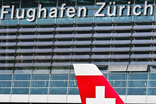 Taxi transfers from Zurich Airport General Aviation Terminal GAT in Switzerland