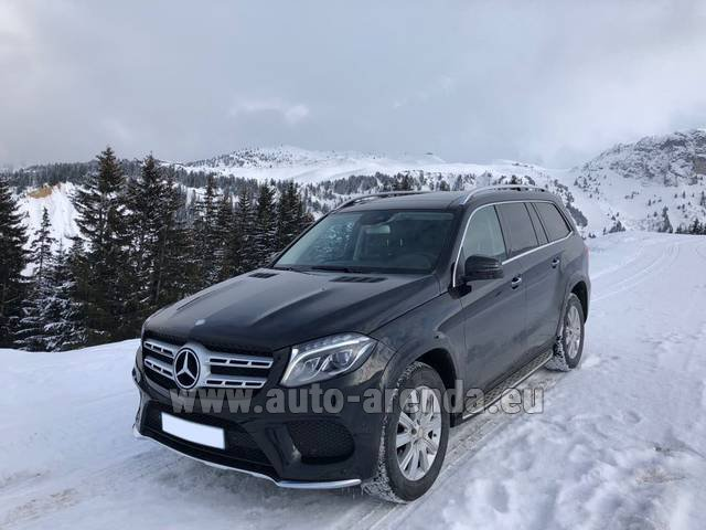 Transfer from Davos to Zurich Airport by Mercedes-Benz GLS BlueTEC 4MATIC AMG equipment (1+6 pax) car